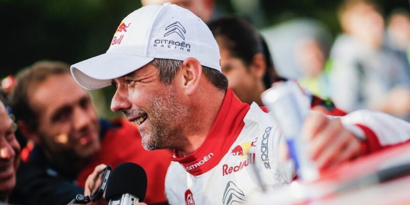 İspanya Rallisi'nde kazanan Sebastien Loeb