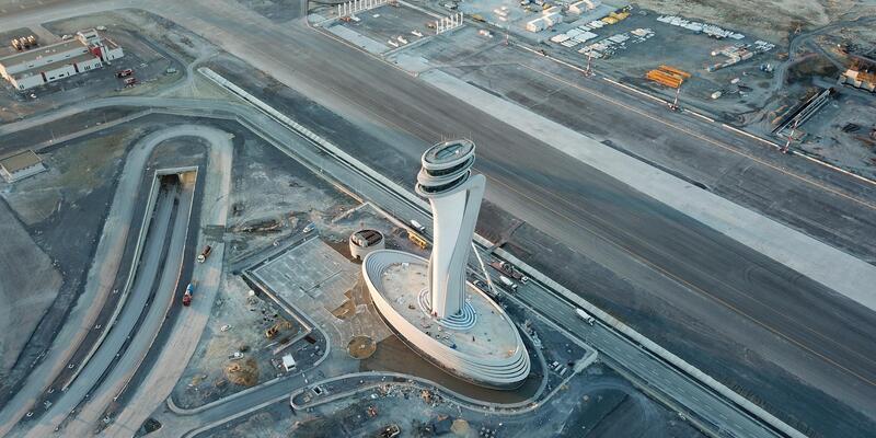 Tarihi açılış öncesi yeni havalimanı havadan böyle görüntülendi