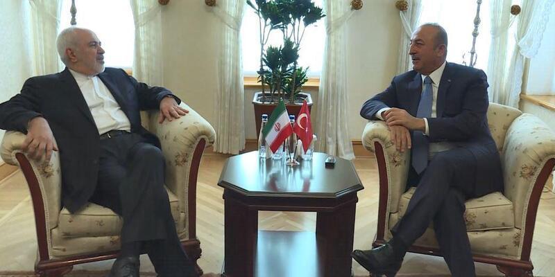 Dışişleri Bakanı Çavuşoğlu, İran Dışişleri Bakanıyla görüştü