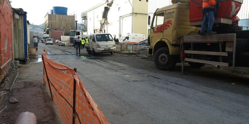 Erdemir'de azot temizliği sırasında 6 işçi ve 2 sağlık personeli hastanelik oldu