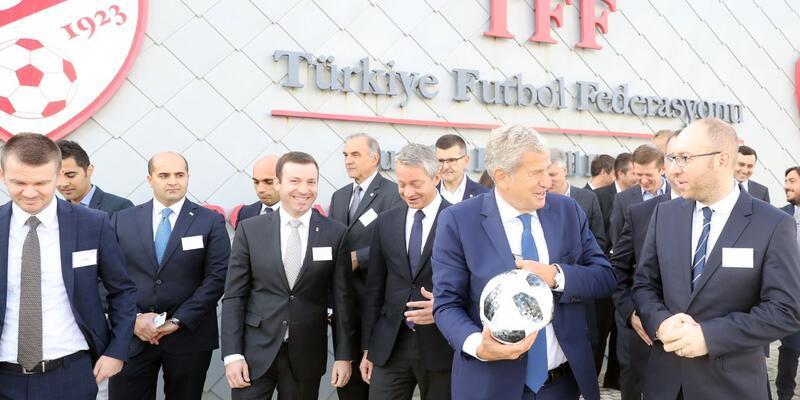 FIFA Infrastructure Workshop Riva'da başladı