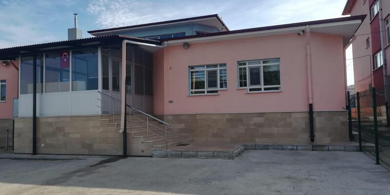 Samsun'da tahliye edilen anaokulu yıkılacak