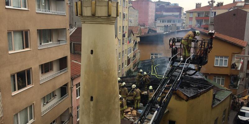 (Geniş Haber) Şişli'de cami yangını