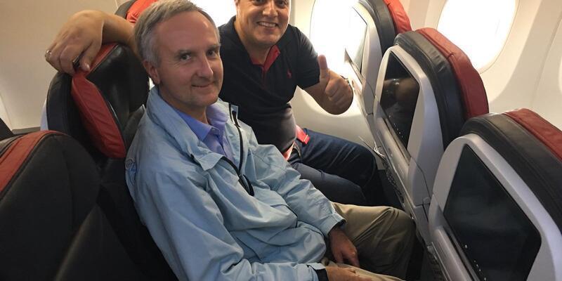 Tarihe geçmek için iki uçuşta da yer aldılar(ÖZEL HABER)