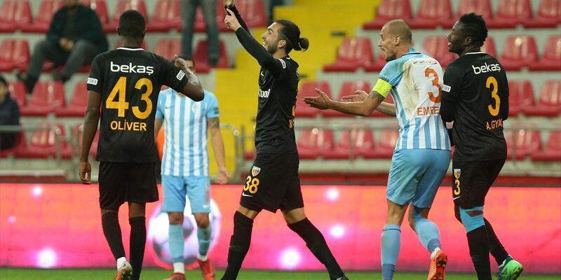 Kayserispor 6 golle turladı