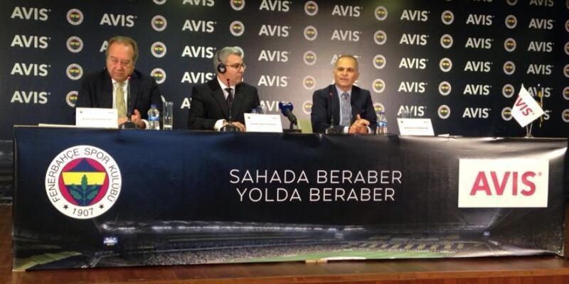 Fenerbahçe yeni sponsoruyla imzaladı