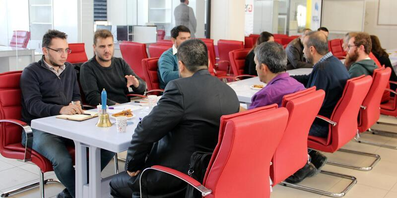 Erciyes Teknoparkta tanışma toplantısı düzenlendi