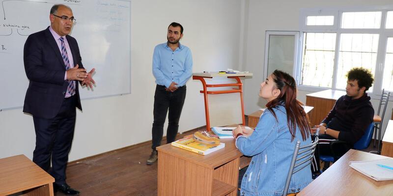 Başkan Mustafa Çay'dan ABEM'e ilk ders ziyareti