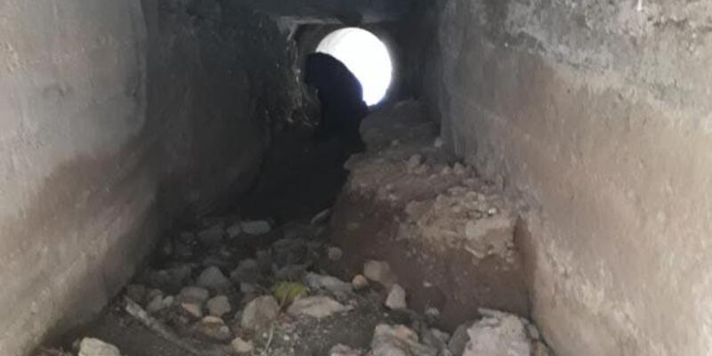 Jandarma, teröristlerin yola tuzakladığı patlayıcıyı bulup imha etti