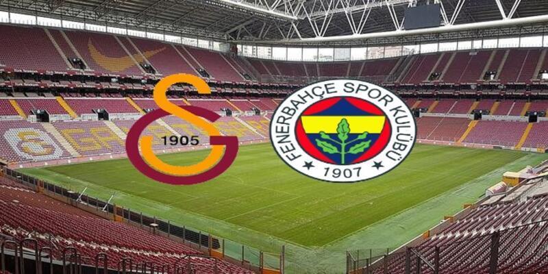 Derbide ilk 11'ler belli oldu! Galatasaray Fenerbahçe maçı saat kaçta başlıyor?