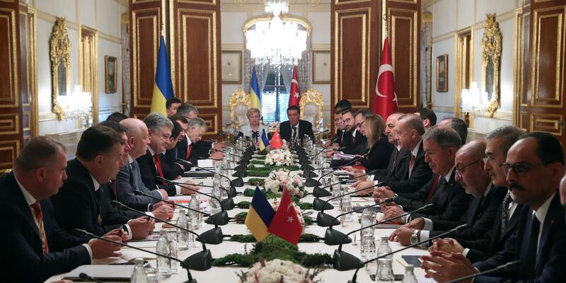 7. Türkiye-Ukrayna Yüksek Düzeyli Stratejik Konsey Toplantısı yapıldı
