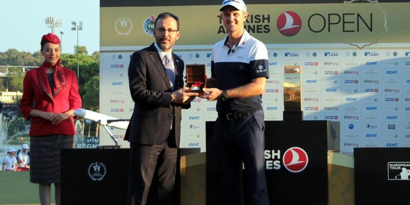 Turkish Airlines Open'ı Justin Rose kazandı