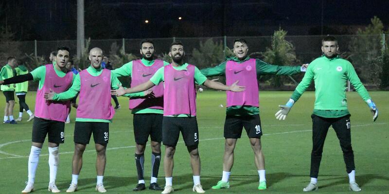 Konyaspor, Ankaragücü maçının hazırlıklarına başladı