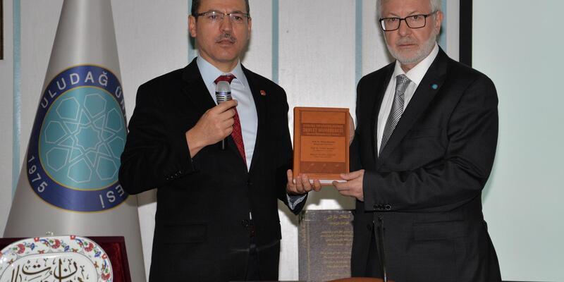 Sayıştay Başkanı'ndan Uludağ Üniversitesi'nin projelerine tam not