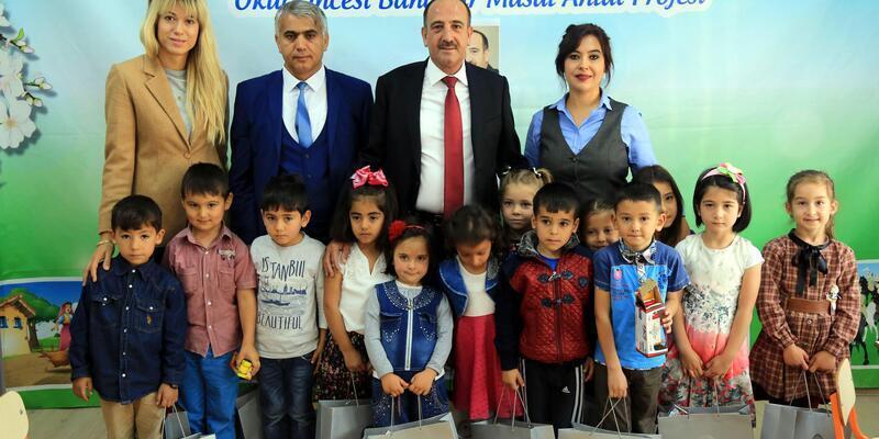 Başkan Duruay, çocuklara masal okudu