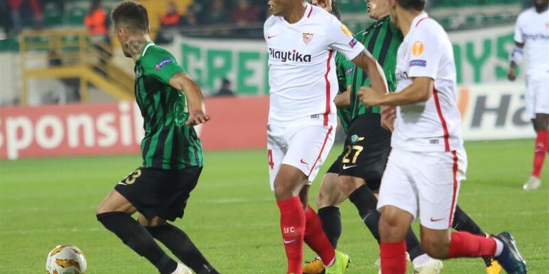 Akhisar 2-3 Sevilla / Maç Özeti