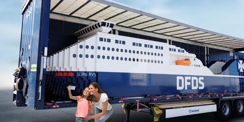 Guinness Rekorlar Kitabı'na giren dev LEGO Gemisi Türkiye'de