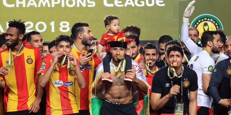 ES Tunus Afrika Şampiyonlar Ligi şampiyonu