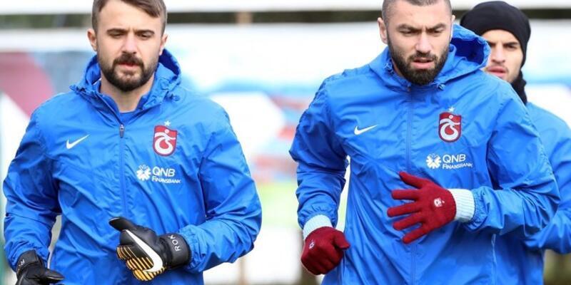 Son dakika Trabzonspor'da iki yıldız kadro dışı bırakıldı