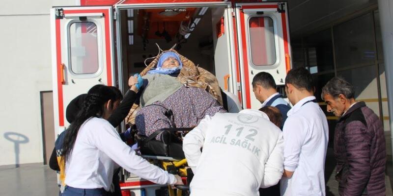 162 kilodaki hastanın yardımına, sağlık ekipleri koştu