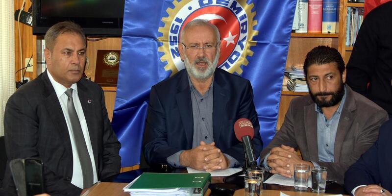 İZBAN'da grev kararı alan işçiler uygun teklif gelene kadar sakal tıraşı olmayacak