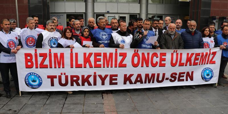 'Ek zam' eylemi yapıp, Cumhurbaşkanı Erdoğan'a mektup gönderdiler