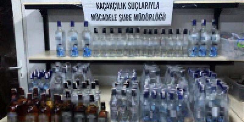Ankara'da 18 adrese kaçak ve sahte içki baskını: 1 tutuklama