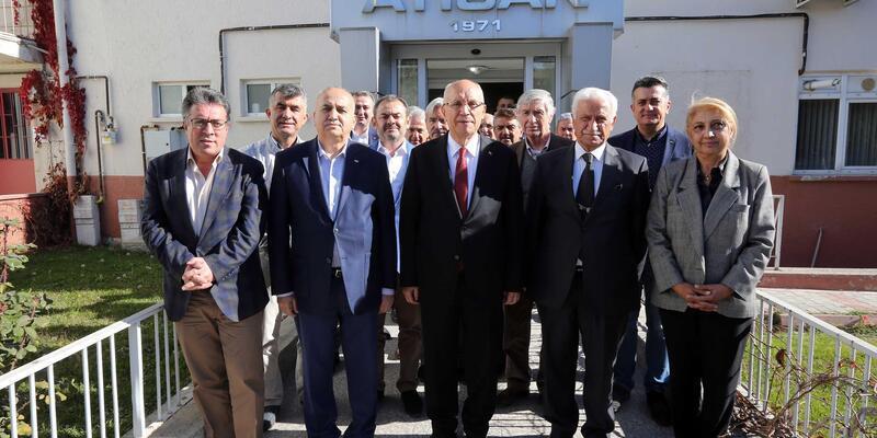 ATİSAN esnafı Başkan Yaşar'ı ağırladı