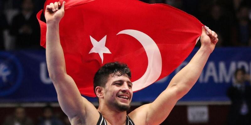 Cengiz Arslan altın madalya aldı