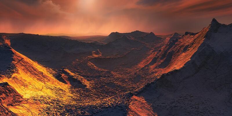 Komşu güneş sisteminde yeni bir gezegen