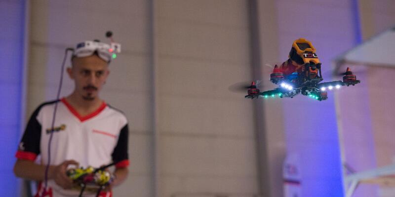 Drone yarışı heyecanı Nişantaşı Üniversitesi'nde yaşanacak