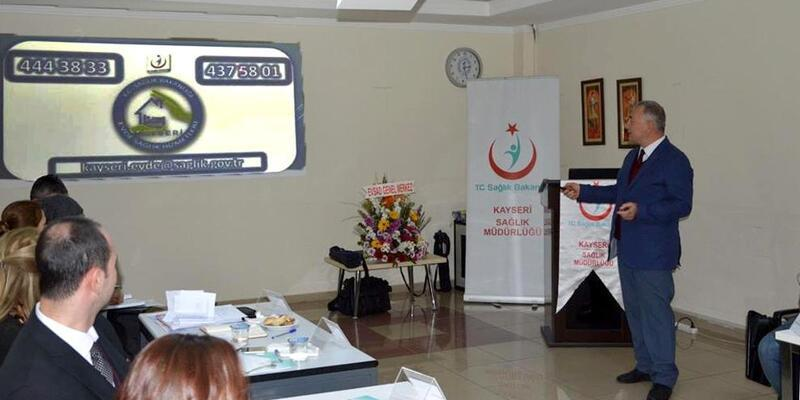 Evde sağlık hizmetleri ve palyatif bakım çalıştayı yapıldı