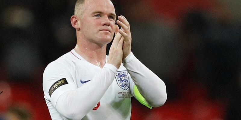 Wayne Rooney milli takımdaki son maçına çıktı