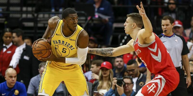 Warriors, Rockets'tan fark yedi