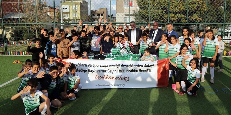 Gaziemir Belediyesi'nden sporculara destek