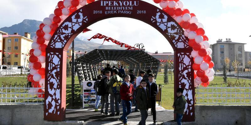 Van Gölü manzaralı Erek Parkı açıldı