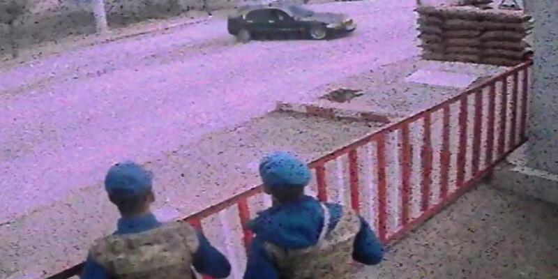 Jandarma önünde drift attı, faturası ağır oldu