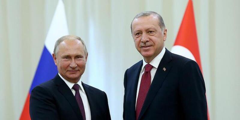 Cumhurbaşkanı Erdoğan ile Rusya Devlet Başkanı Putin bugün bir araya gelecek