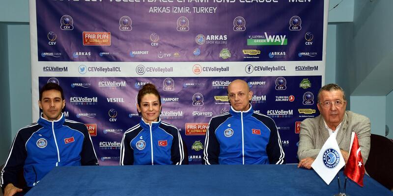 Arkasspor'da Avrupa heyecanı