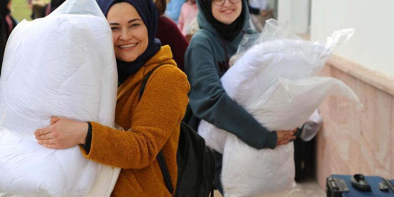 Sivas'ta 10 bin kişilik yurda öğrenci alımı başladı