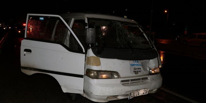 Polis memuru karşıdan karşıya geçerken ağır yaralandı