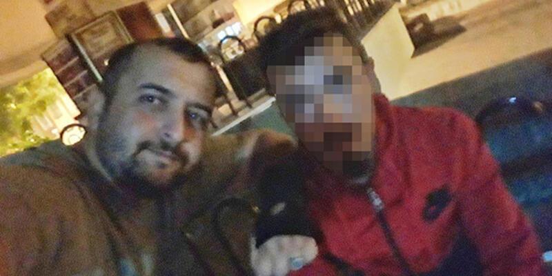 Yakaladığı hırsızı, selfie çektikten sonra polise teslim etti