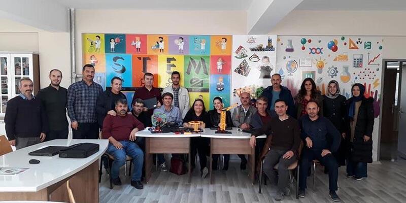 Yozgat'ta öğretmenlere STEM eğitimi verildi