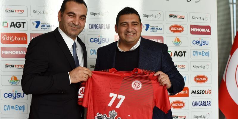 Antalyaspor'u sevindiren gelişme