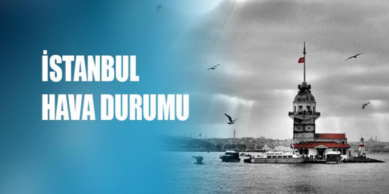 İstanbul hava durumu beş günlük | Meteoroloji'den beş günlük sıcaklık verileri