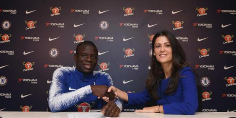 N'Golo Kante Chelsea'yle sözleşme uzattı