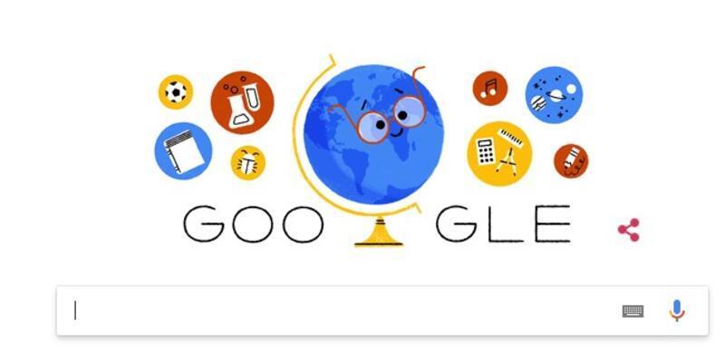 Öğretmenler Günü Google'a doodle oldu!