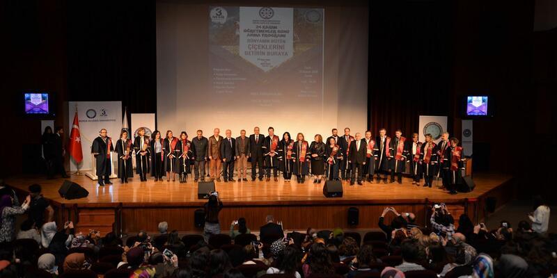 Uludağ Üniversitesi'nde buruk kutlama