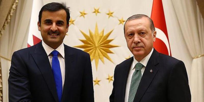 Erdoğan, Katar Emiri ile görüşecek