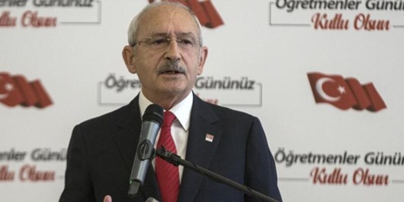 Kılıçdaroğlu: Ögretmenlere 3600 ek gösterge verilmeli